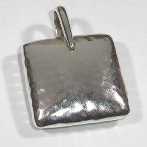 Silpada Sterling Silver Square Pillow Pendant
